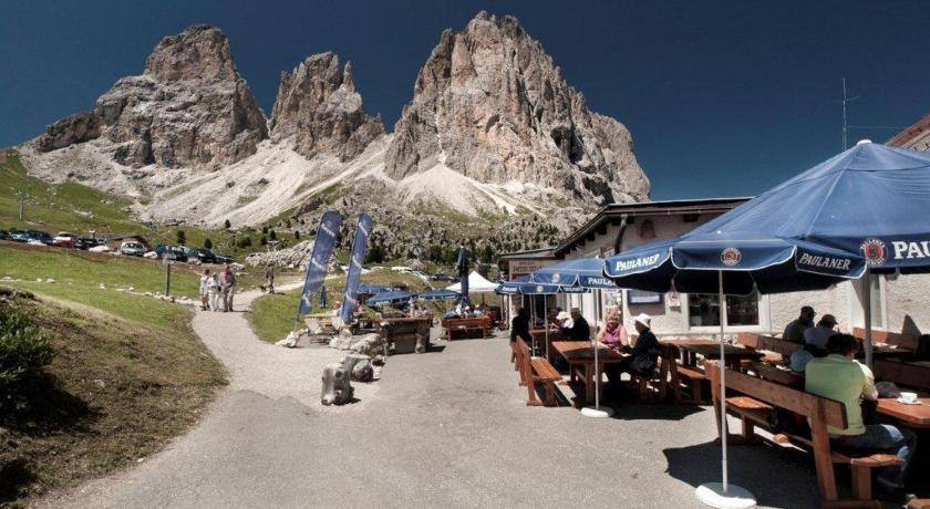 Passo Sella Rifugio Hotel Rifugio Passo Sella