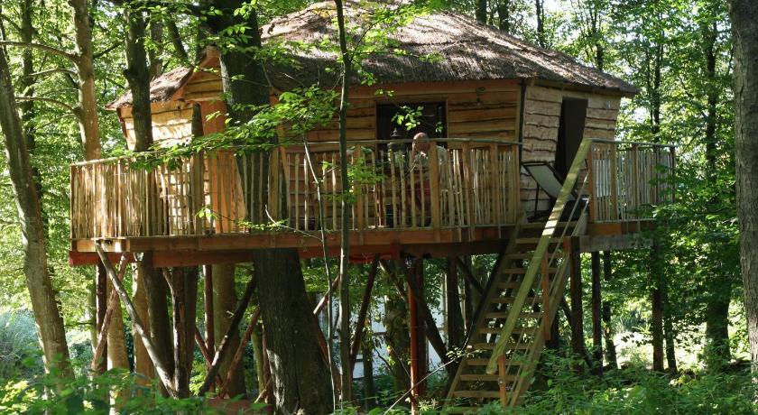 Cabane en bois hotel belgique
