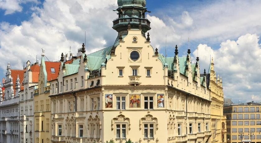 Hotel paris prague czech republic for Hotel reservation in prague