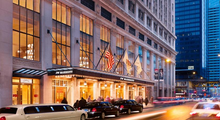 Hotel jw marriott chicago il for Top luxury hotels in chicago