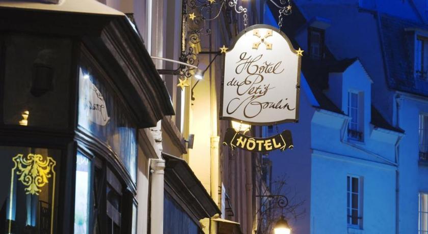 Hotel du petit moulin paris france for Hotel design 75003