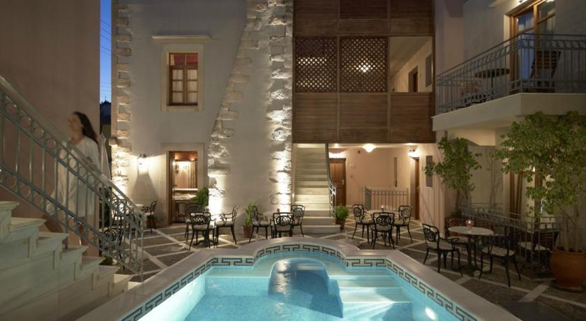 Palazzo Vecchio Exclusive Residence, Hotel, Iroon Politechniou & Melissinou, Rethymno town, 74100, Greece