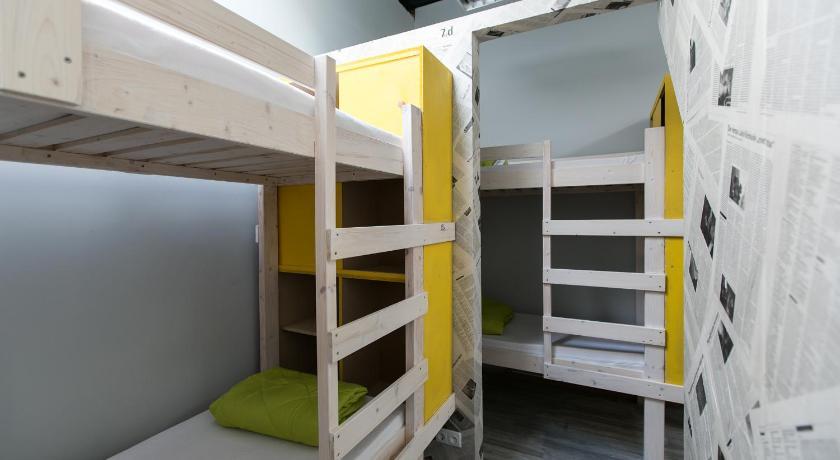 комната в недорогом хостеле Вильнюса