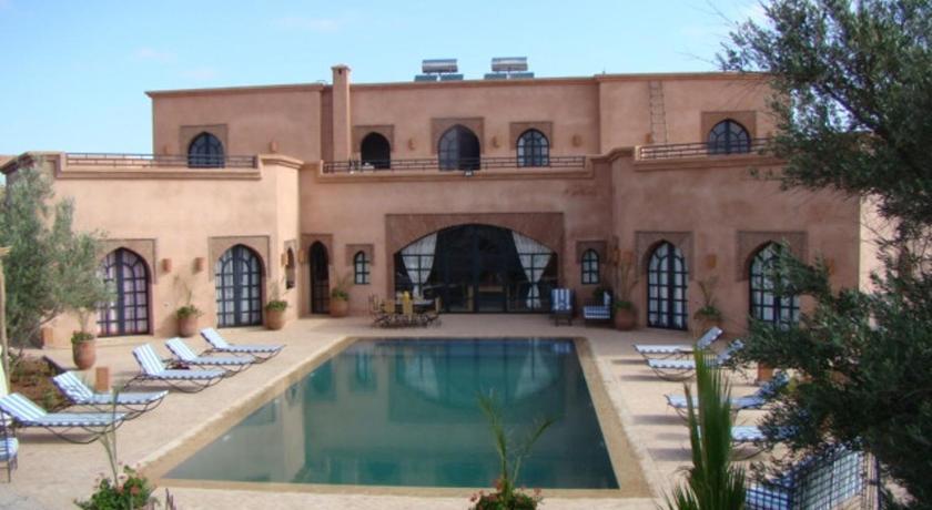 Villa tycoz hotel pas cher marrakech for Villa pas cher