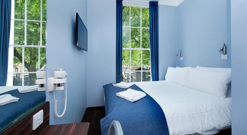 7 h tels vraiment pas cher londres vanupied. Black Bedroom Furniture Sets. Home Design Ideas