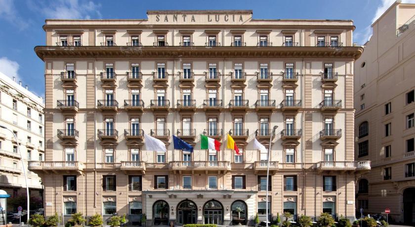 イタリア,ナポリ,グランド ホテル サンタ ルチア(Grand Hotel Santa Lucia)