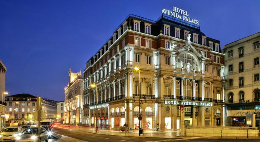 Hotel Avenida Palace in Lissabon