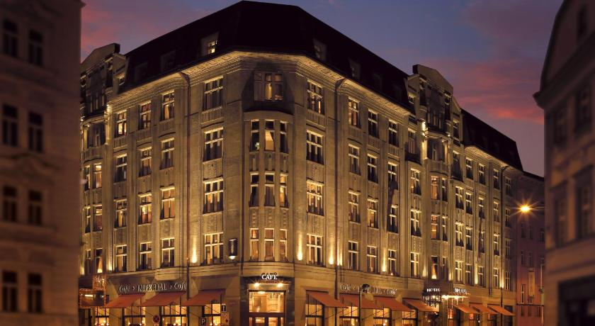 チェコ,プラハ,アールデコ インペリアル ホテル(Art Deco Imperial Hotel)