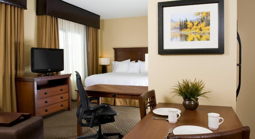 1 King Accessible Studio W/ Tub Mountain View Non-Smoking - Homewood Suites by Hilton Kalispell MT - 2