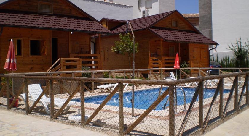 Camping resort cabanas madera el arroyo - Cabanas cerca de madrid ...