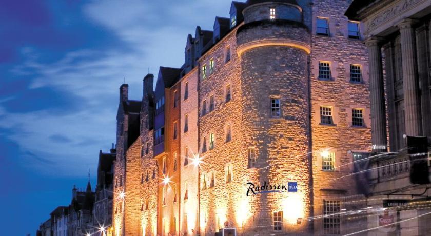 イギリス,エディンバラ,ラディソン ブルー ホテル, エディンバラ(Radisson Blu Hotel, Edinburgh)