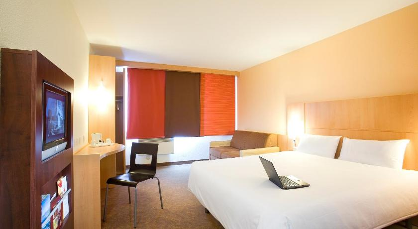 Bedrooms at The Ibis Hotel Dublin Ireland