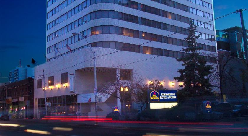 Plus roehampton hotel toronto canada for Best western toronto
