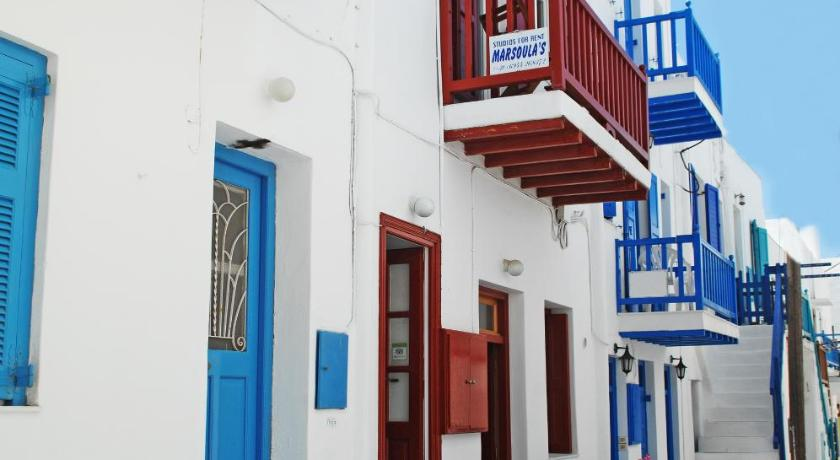 Marsoula'S Studios, Hotel, Fournakia, Mykonos city, 84600, Greece
