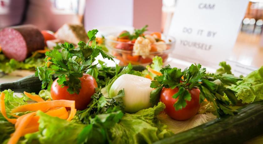 Bohemi Hotel, Food close-up