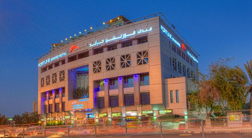 Fortune grand hotel dubai uae for Hotel dubai booking