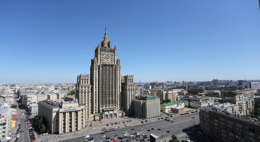 ロシア,モスクワ,ホテル ベルグラード(Hotel Belgrad)