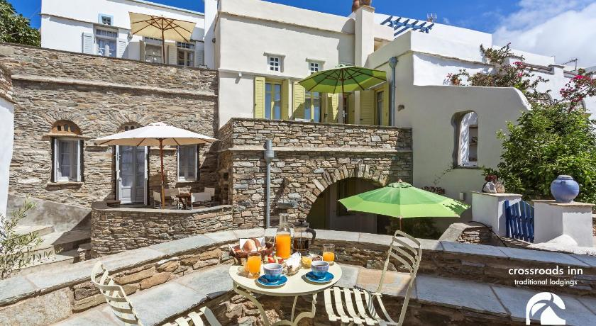 Crossroads Inn Traditional Lodging, Hotel, Tripotamos, Tinos, 84200, Greece