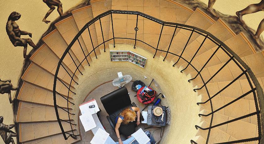 хостел Минска лестница