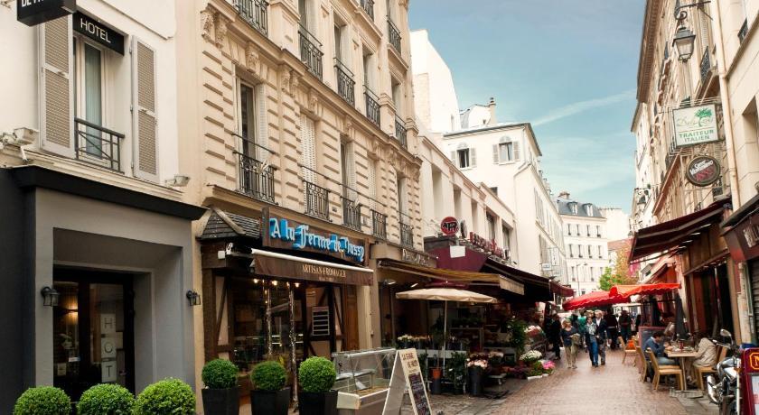 Hotel les hauts de passy paris france for Telephone booking france