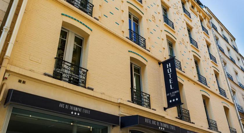 H tel arc de triomphe etoile france paris - Hotel arc de triomphe etoile ...