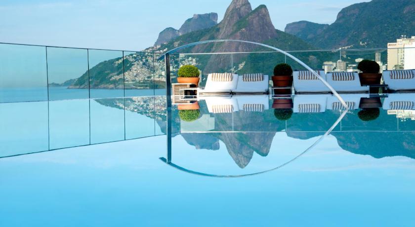 Hotel fasano rio de janeiro brazil for Best swimming pool designs in the world