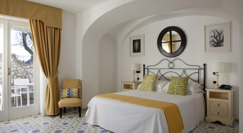 Room at Hotel Canasta, Capri. (Photo by Hotel Canasta  )