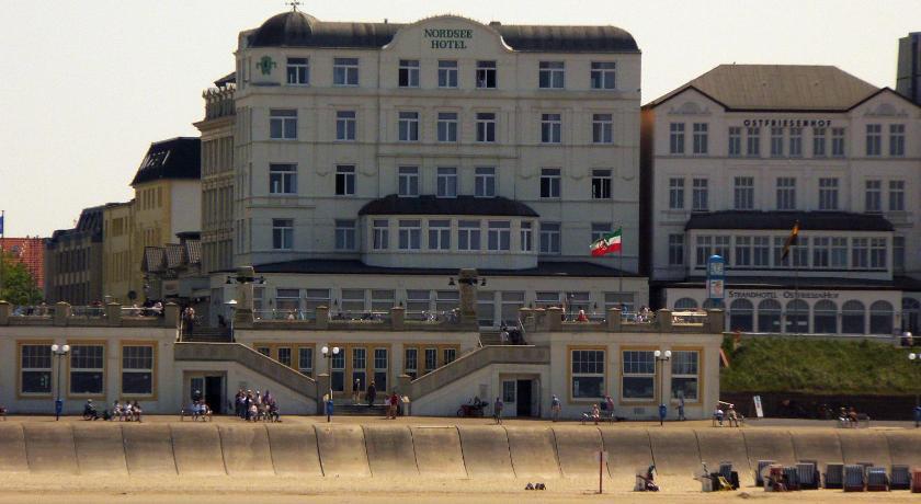 Enkelt hotell Borkum