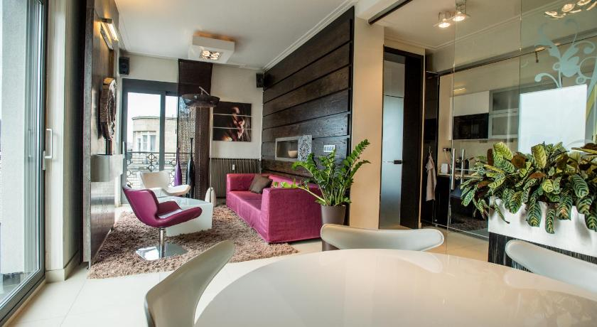 Downtown Penthouse in Budapest