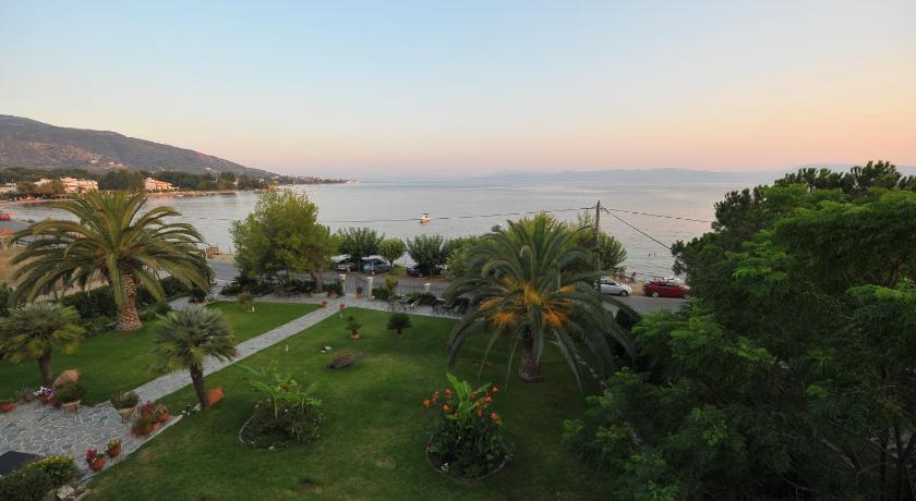 Galazia Akti, Hotel, Agios Nikolaos Beach, Aidipsos, 34300, Greece