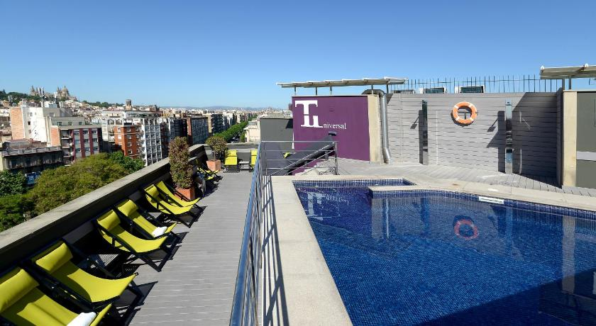 Hotel barcelona universal spain for Hotel 4 barcelona booking