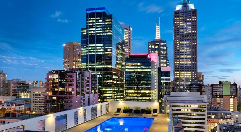 オーストラリア,メルボルン,ホテル グランド チャンセラー メルボルン(Hotel Grand Chancellor Melbourne)