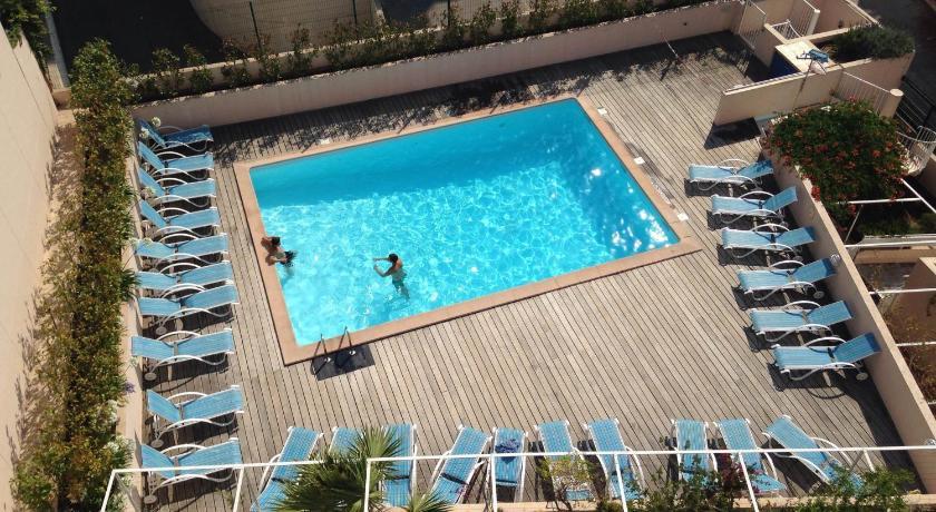 Les Félibriges - Studio terrasse vue mer avec p... (Cannes)