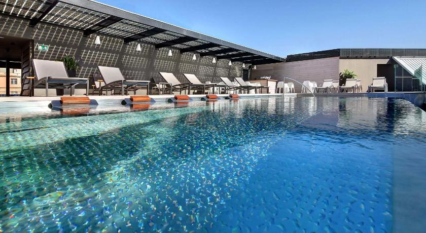 Olivia balmes hotel barcelone espagne - Barcelone hotel piscine interieure ...