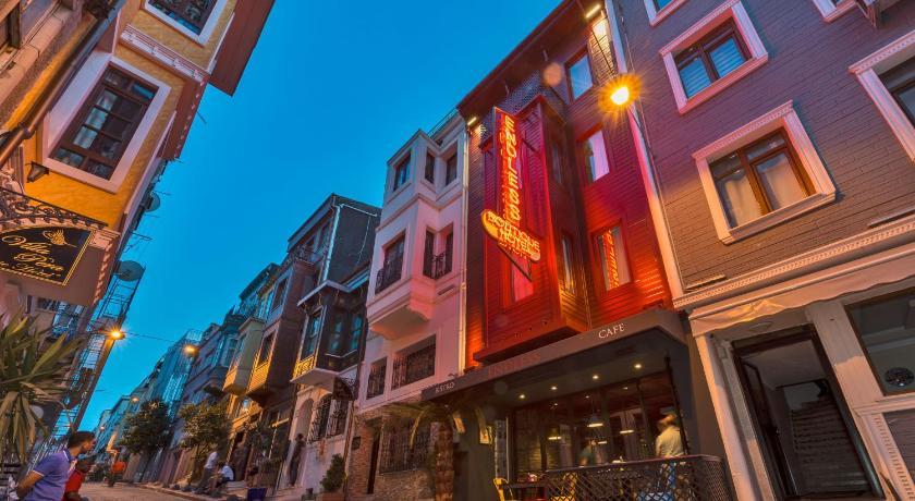 Endless hotel taksim istanbul turkey for Endless suites taksim