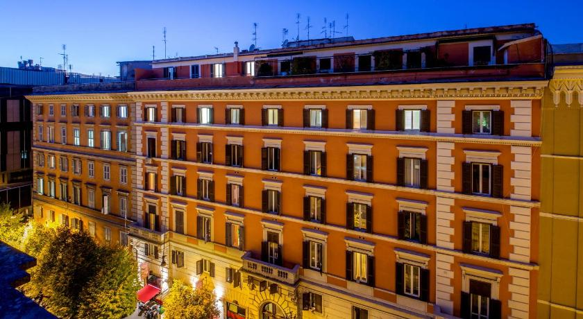 Hotel oxford rome italie for Reservation hotel italie