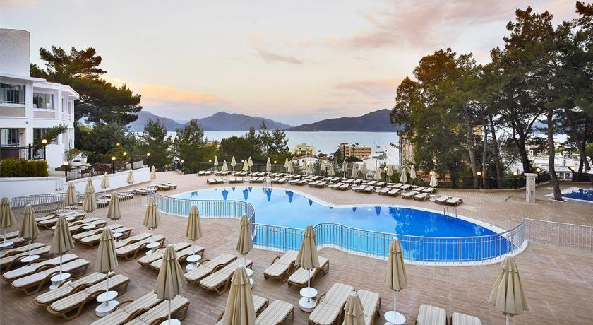 Ideal panorama hotel marmaris turkey for Ideal hotel design booking