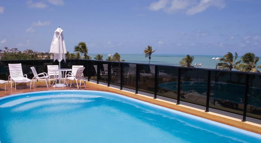 hotel flat mar do cabo branco jo o pessoa brazil. Black Bedroom Furniture Sets. Home Design Ideas
