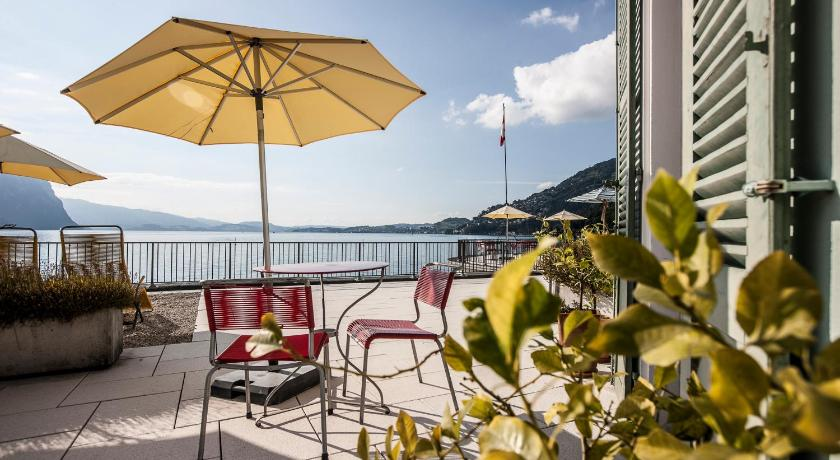 hotel terrasse am see schweiz vitznau. Black Bedroom Furniture Sets. Home Design Ideas