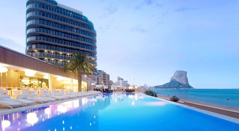 Gran hotel sol y mar calpe spain for Hoteles en calpe playa