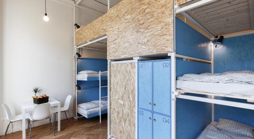 Avenue Hostel, une auberge avec un très bon rapport qualité prix à Budapest.
