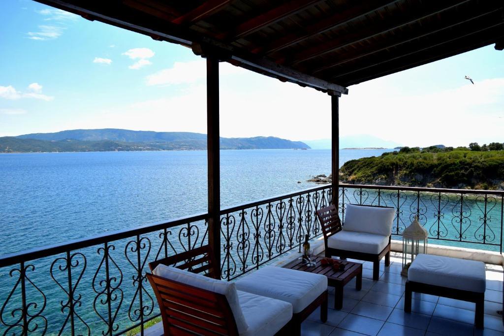 Villa Evi (Grécia Ammouliani) - Booking.com