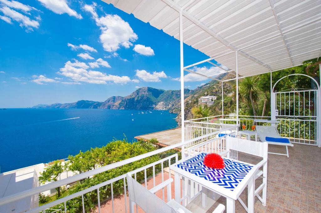 Uma varanda ou terraço em Il Corallo