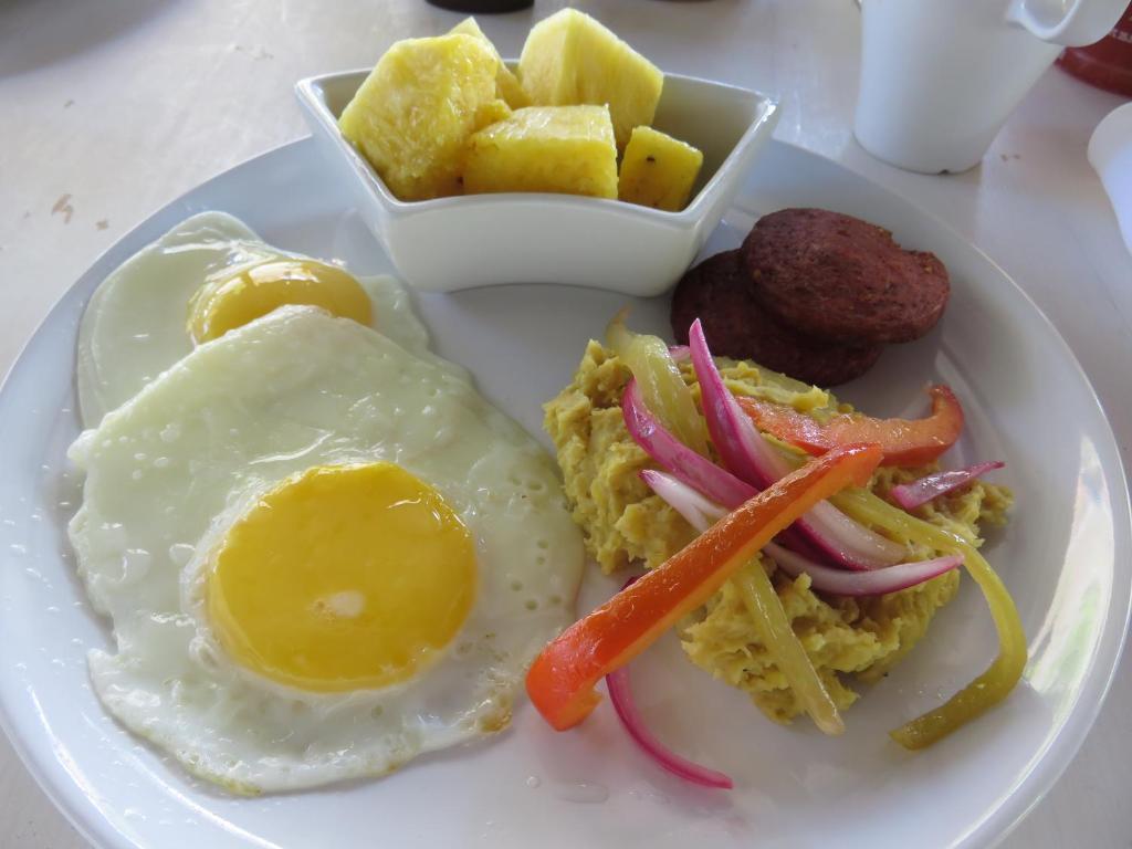 Comida en el bed and breakfast o alrededores