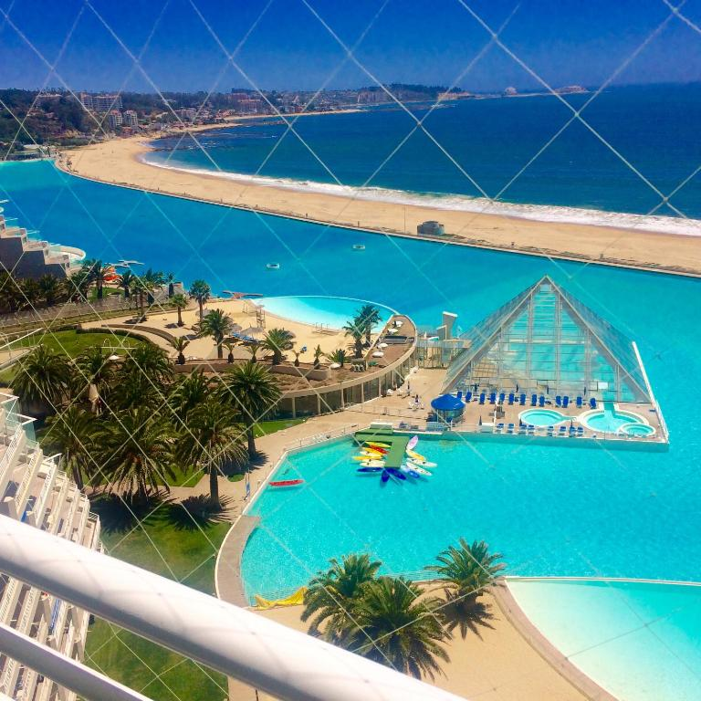 San alfonso del mar resort chile algarrobo - San alfonso del mar swimming pool ...