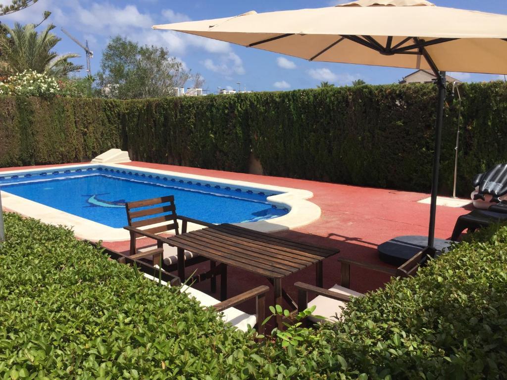 Casa de vacaciones mil palmeras espa a pilar de la - Casas para alquilar en las mil palmeras ...