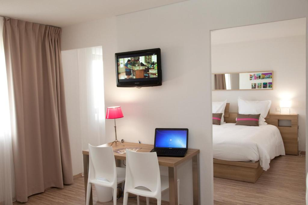 Appart 39 h tel teneo appart bordeaux france m rignac for Apparthotel 13