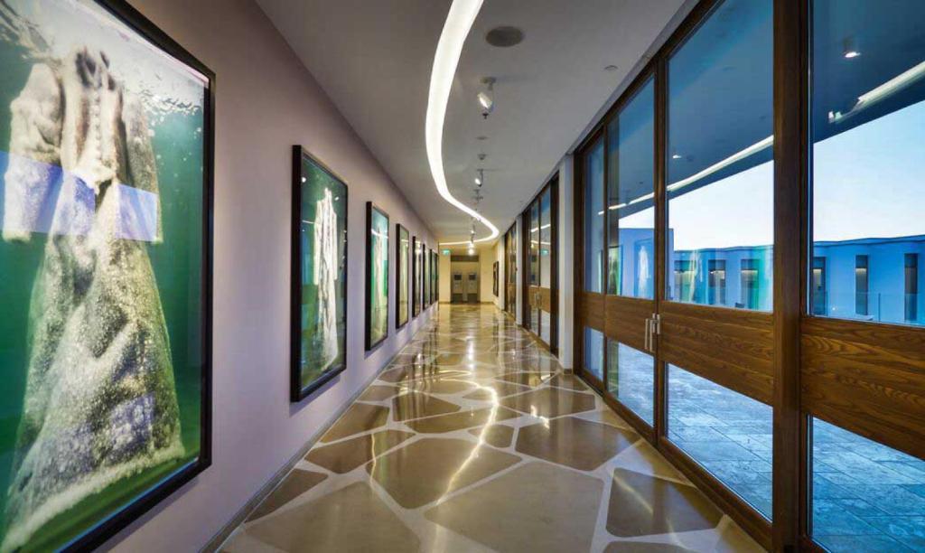 אלמא מרכז אמנויות מלון יוקרה