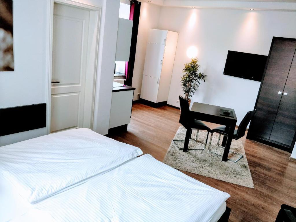 aparthotel stadtvilla premium alemania schweinfurt. Black Bedroom Furniture Sets. Home Design Ideas