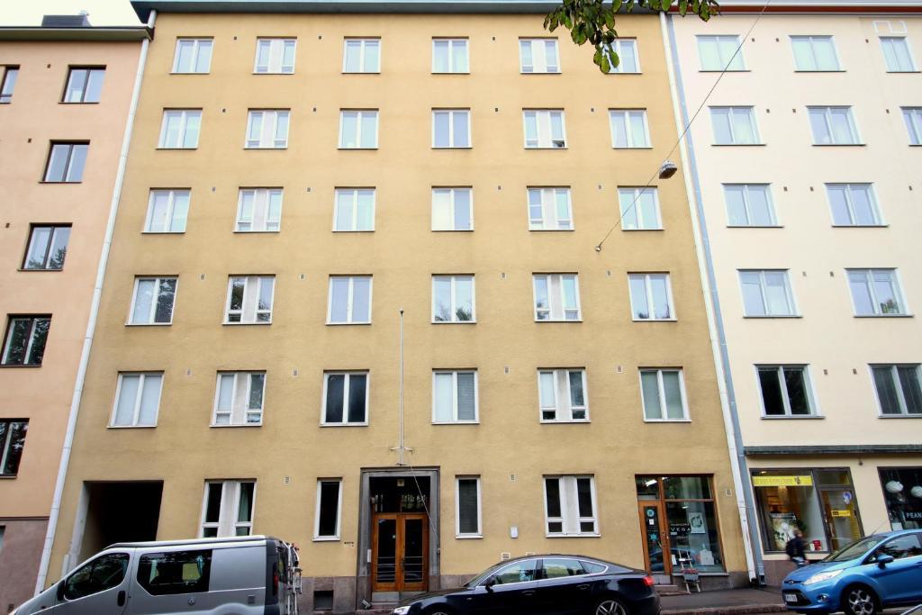 Studio apartment in Helsinki, Nordenskiöldinkatu 6 (ID 129)